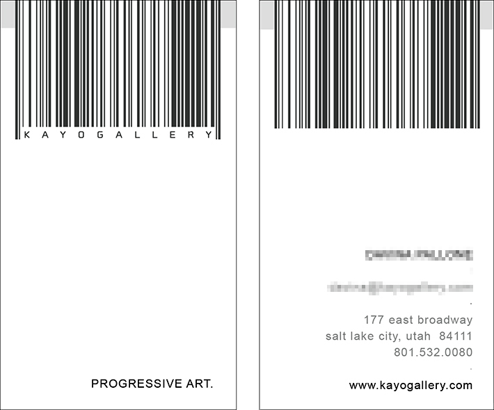 Kayo Gallery Business Card