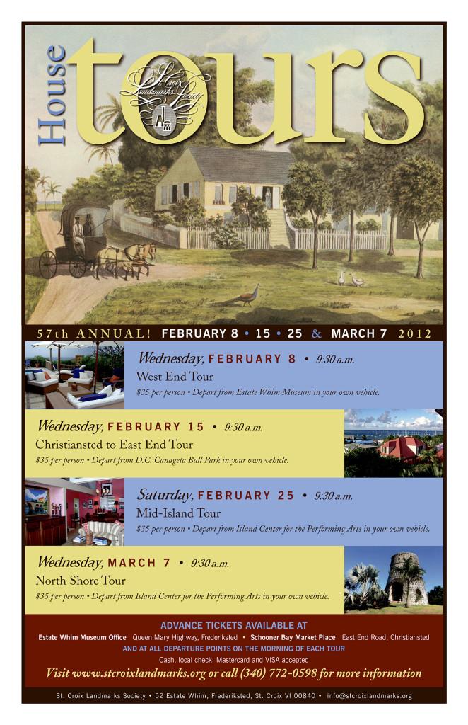 STX Landmarks Society House Tours Poster 2012